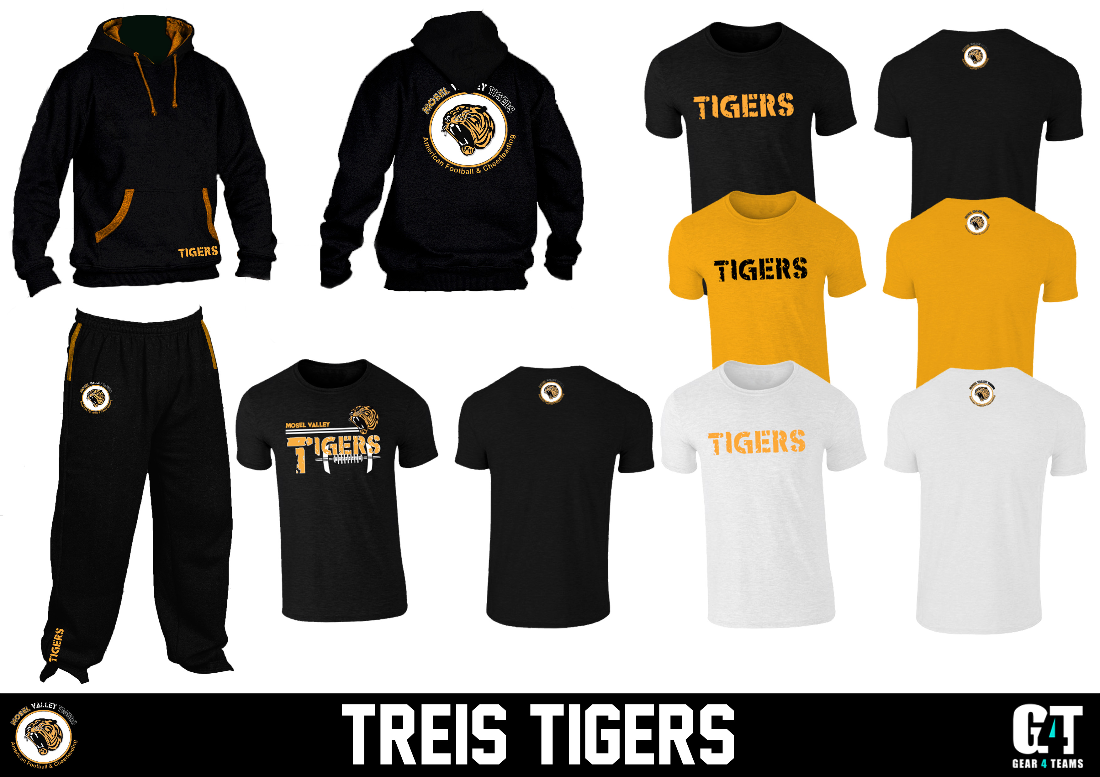Treis Tigers Fan Gear 14.11.2016 Presentation 2